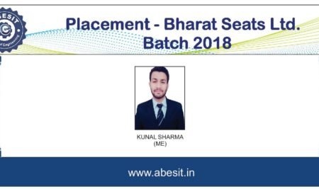 Selection in Bharat Seats Ltd.