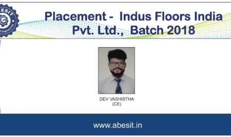 Selection in  Indus Floors India Pvt. Ltd.