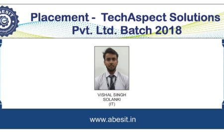 Selection in ​​ TechAspect Solutions Pvt. Ltd.