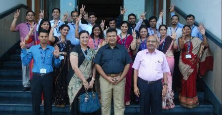 Faculty-cheering-the-Extraordinary-Performance-of-B.Tech_.-1st-year-Even-Semester-Result-after-the-Award-Ceremony-on-August-20th-2017