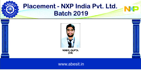 Selection in NXP India
