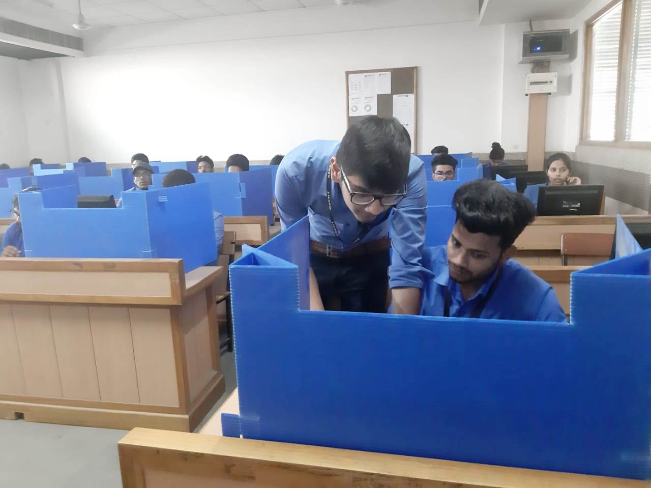 "IT Technical Club in collaboration with the DSC Club organised ""CODE"