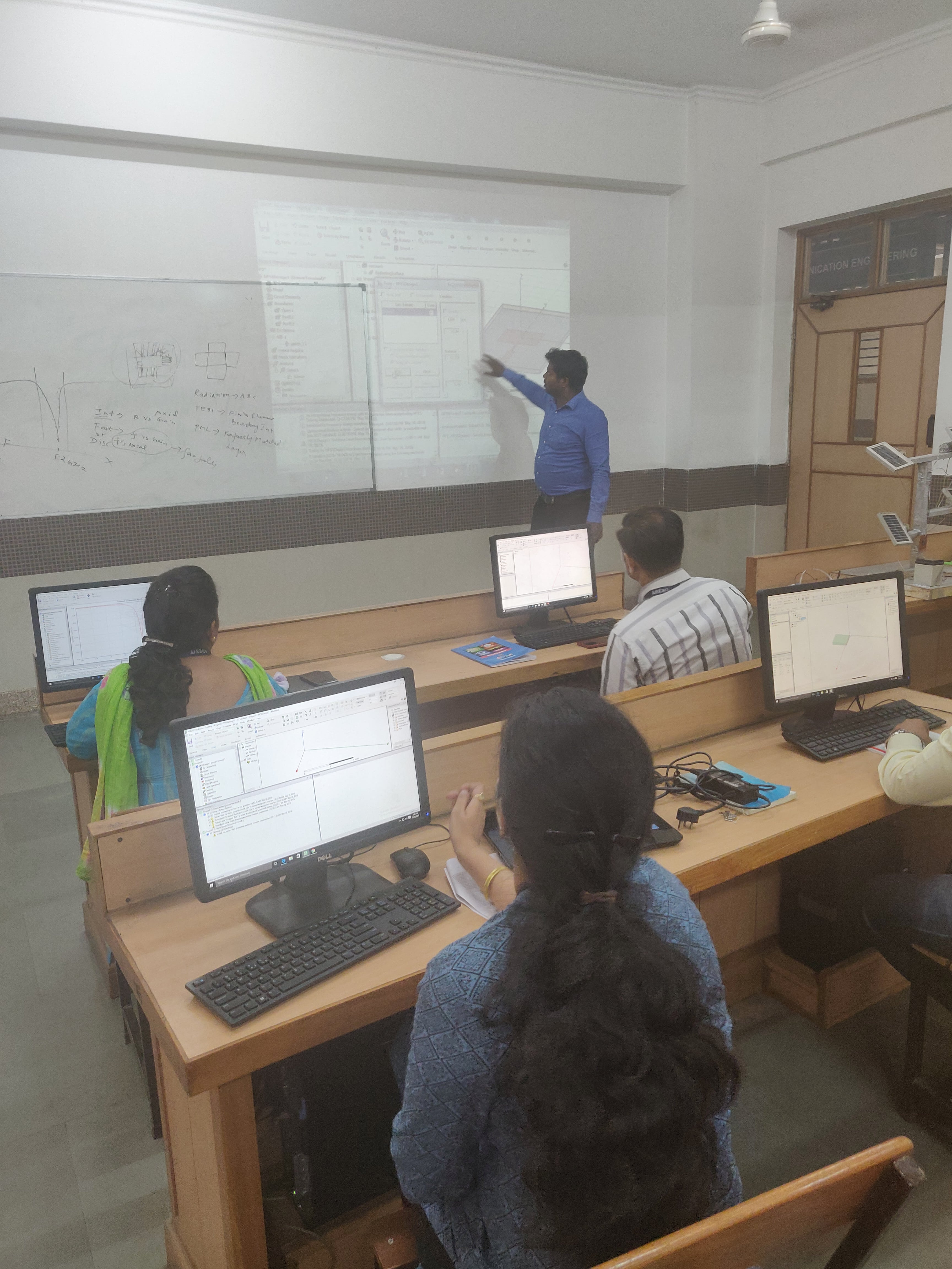 Faculty Training Program on ANSYS HFSS Software by Entuple