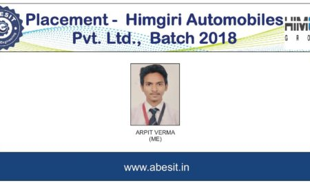 Selection in  Himgiri Automobiles