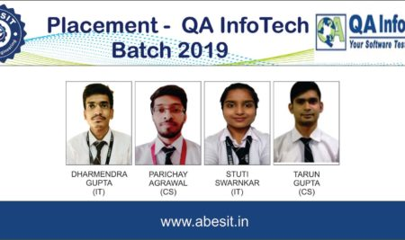 Selections in QA InfoTech