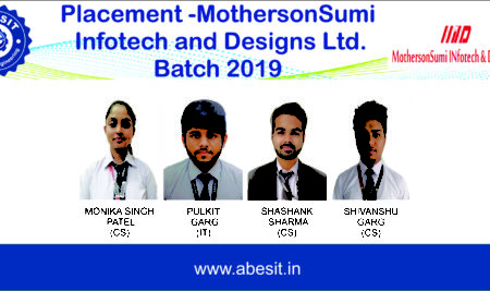 Selections in MothersonSumi INfotech and Designs Ltd.