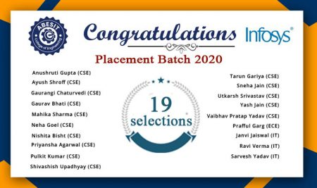 Selection  in Infosys