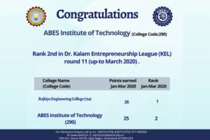 Dr. Kalam Entrepreneurship League 2020
